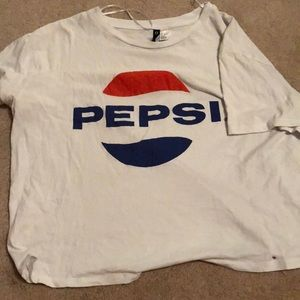 Tops - Pepsi crop top